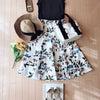 【コーデ】夏の旅行へ♡リゾート風花柄スカートで旅行コーデ♪の画像