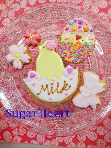 桜アイシングクッキー