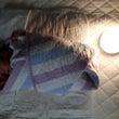 大活躍中の授乳ライト