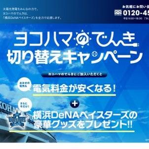 「横浜DeNAベイスターズ観戦チケット他」が当たるの画像