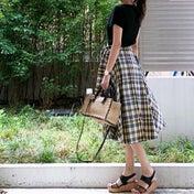UNIQLO 990円で即決したスカート^ ^!