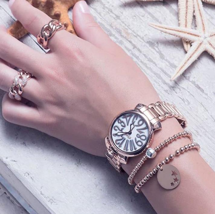 94eabdc6c2 GaGa MILANOの腕時計で夏コーデにアクセントを♡ | バランススタイル ...