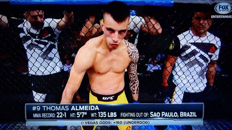 観戦記1515 UFC on FOX.25 ジミ...
