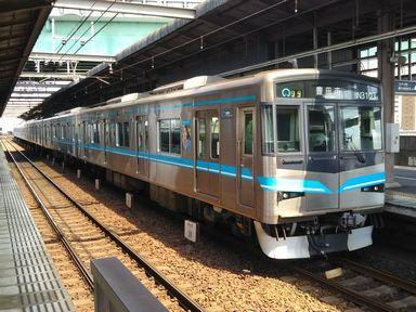 鶴舞線N3000系(2018年8月13日撮影)