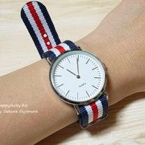 """""""3COINSで見つけた500円腕時計""""の記事に添付されている画像"""
