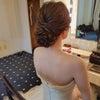 結婚式出張ヘアメイク/横浜迎賓館結婚式の素敵な花嫁様/人気のポニーテールの画像