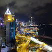 ど迫力な香港の夜景♡大好きすぎるルーフトップバーと安定の安ウマ!ミシュラン広東料理。