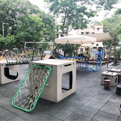 香港インター幼稚園の工夫された園庭の記事に添付されている画像
