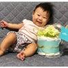 お子さまと一緒にダイパーケーキもうれしそう♡の画像
