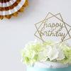 【ケーキトッパー】写真映え間違いなし!!HAPPY BIRTHDAY☆彡の画像