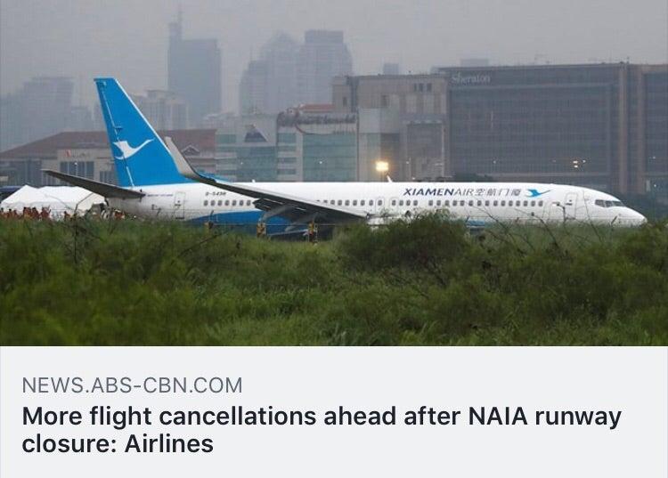 閉鎖 マニラ 空港