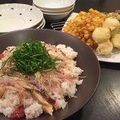 【昨日の晩ごはん&とうもろこしの天ぷらが絶品!】