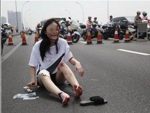 中国で無差別殺傷事件―オフロード車で自転車など次々にはね、下車して ...