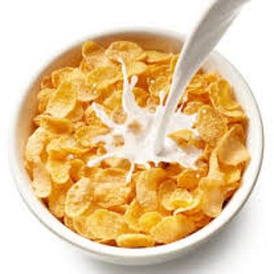 『シリアルには牛乳??』の記事に添付されている画像