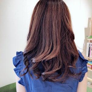 箕面市外院美容室Ring 人気のカラー♡の画像