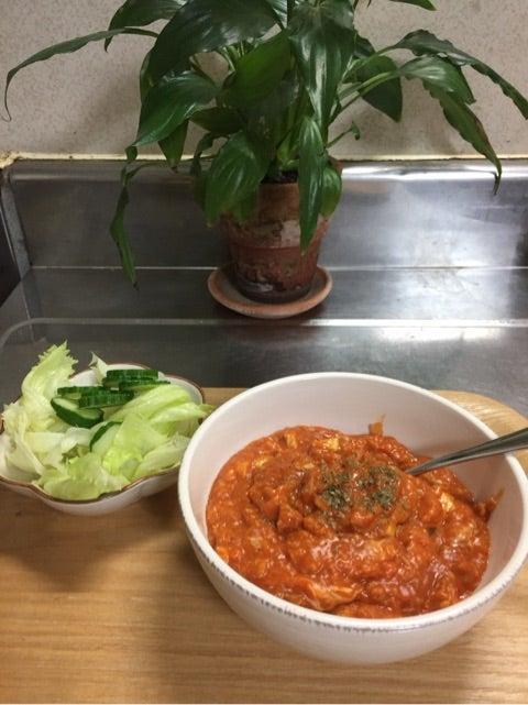 リゾット オートミール トマト