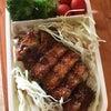 日本のとんかつ弁当の画像
