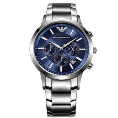 0078c15f5c エンポリオアルマーニ腕時計/メンズ/AR2448/ブルーダイアル/クラシック/クロノグラフ