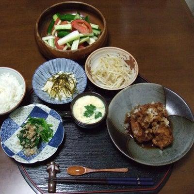 本日の夕食。の記事に添付されている画像
