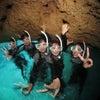 青の洞窟シュノーケル♪青の洞窟に行ける確率No1のテイクダイブ♪体験ダイビングもライセンスもOKの画像