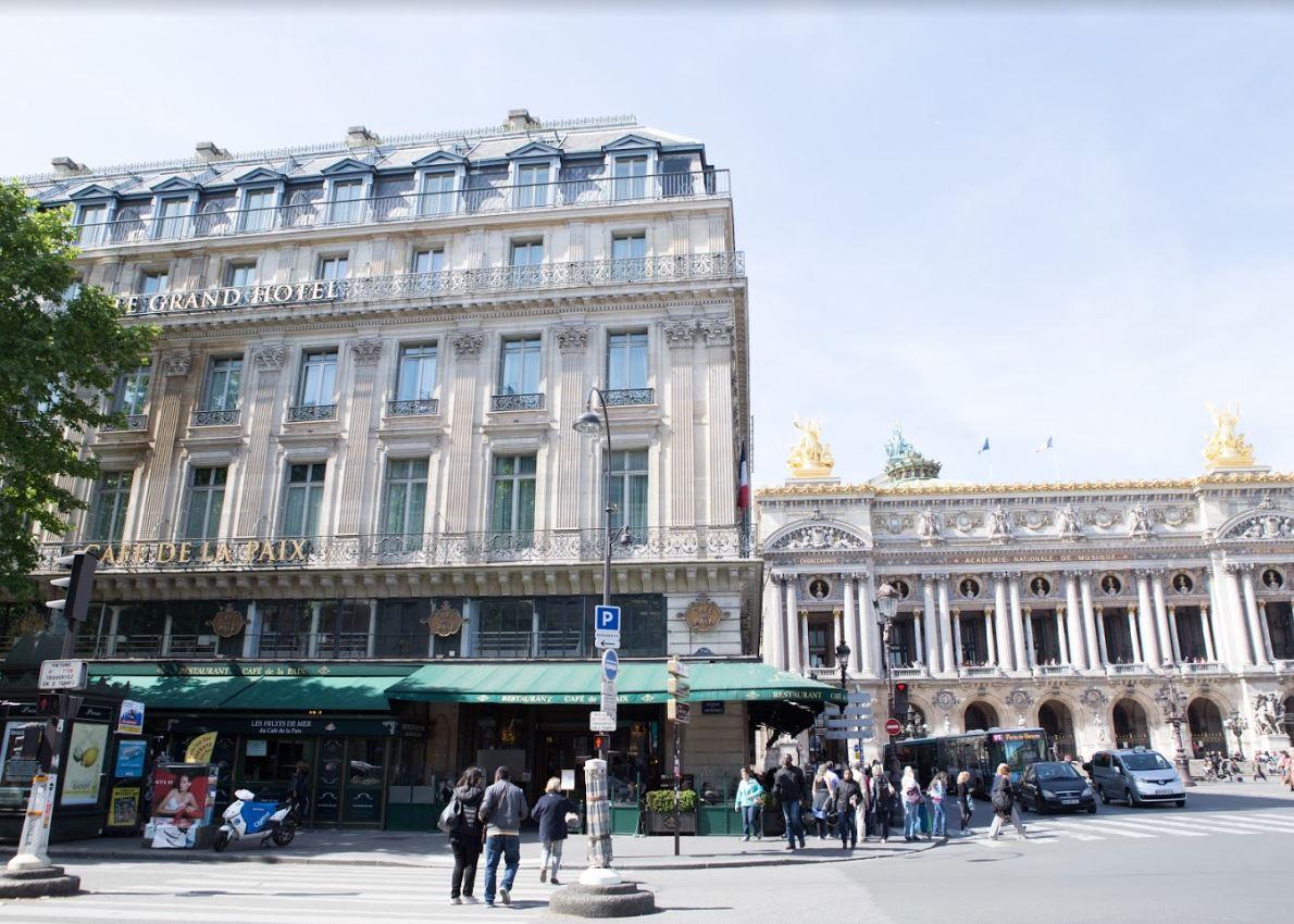 O'BON PARIS BLOGオペラ座近くの歴史あるレストラン、Café de la Paix