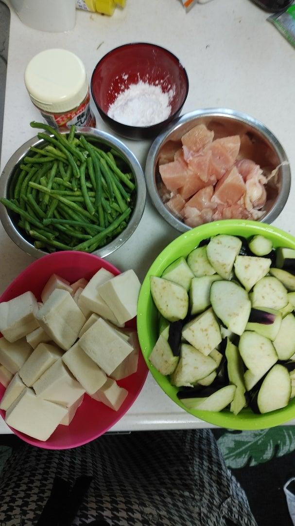 ささげ の 煮物