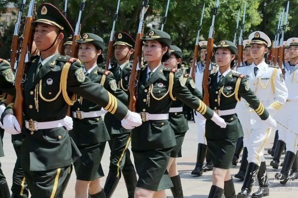 中国人民解放軍儀仗隊女兵 | 戦車兵のブログ