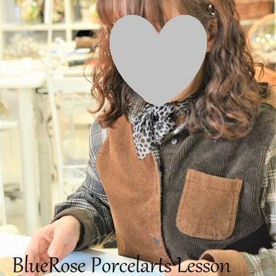 仲良し大人女子さまのポーセラーツ①♡の記事に添付されている画像