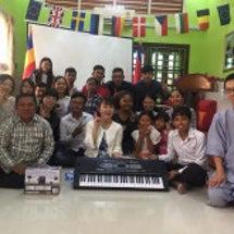 カンボジアで国際NG…