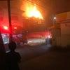 ▼唸声火災現場のストリートビュー/千葉県臼井市富士で火災発生の画像