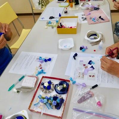 ビーズ・編み物教室の臨時講師をさせていただきました!(東京 北品川 リボンレイ の記事に添付されている画像