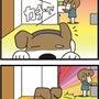 ★4コマ漫画「音」