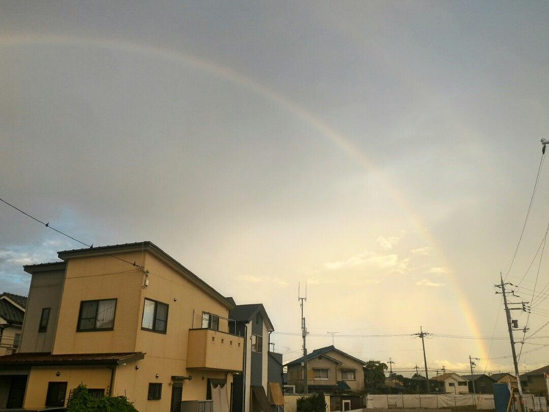 虹がかかったからいいことありそう。娘にしこりがの記事より
