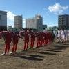 サッカー選手権大会地区予選二回戦の画像