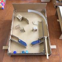 夏休み 工作教室 ピンボールマシンの記事に添付されている画像