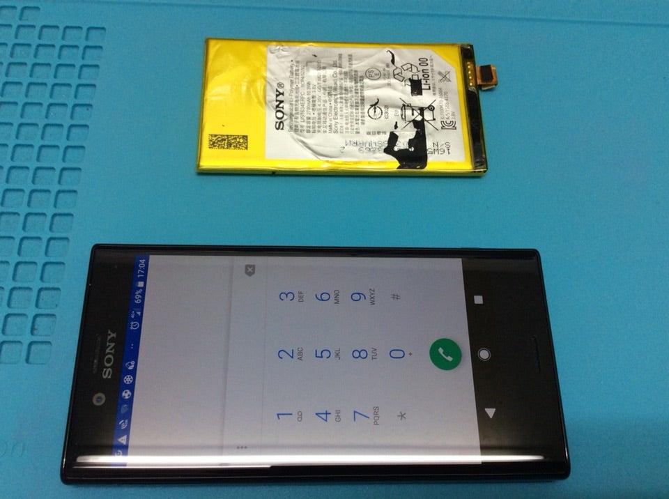 xperia Z3compact バッテリー交換です❗️の記事より