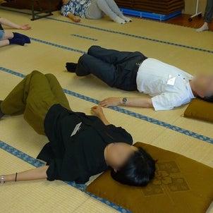 8月19日第21回みやぎ操体の会「二人操体」勉強会終了しました。の画像