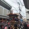 岸和田旧市 だんじり祭り 試験曳きの画像