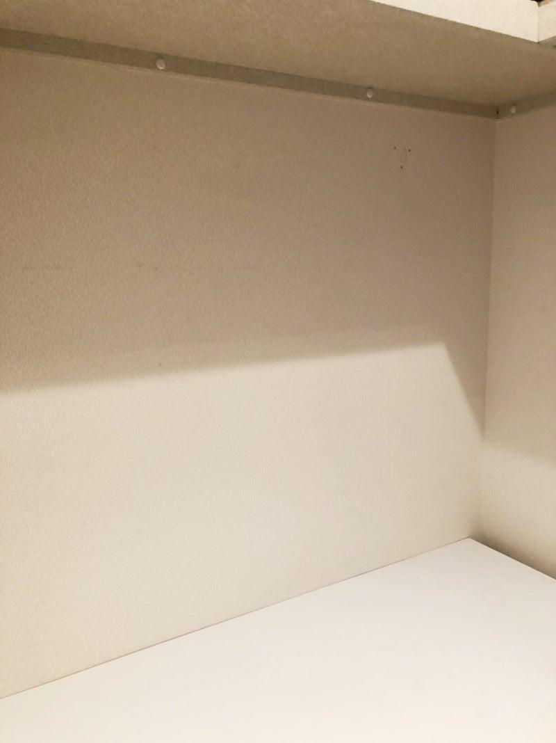ニトリの貼ってはがせる壁紙で白壁をレンガ風に アラフォールリ