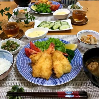 開き海老フライ定食!の記事に添付されている画像