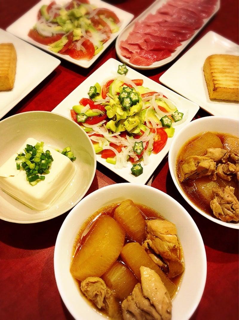 の 夕飯 今日