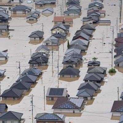 あの日の記録 被災地真備からの記事に添付されている画像