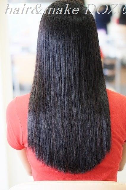 DOZEの美髪は髪のベースをしっかりと作り上げます!!!