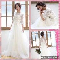 オーダードレスレポ♡みんなのドレスの記事に添付されている画像