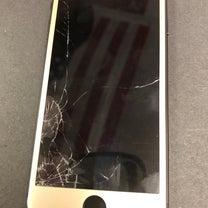 iPhone8 画面修理の記事に添付されている画像