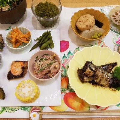 【夕ごはん】秋刀魚の梅煮の記事に添付されている画像