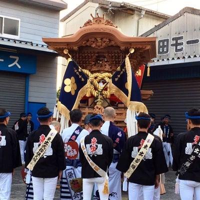 岡山町東出入魂式の記事に添付されている画像