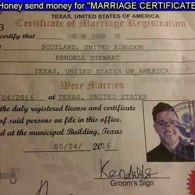 【FAQ】国際ロマンス詐欺師と結婚が成立していることになっています。どうすればいの記事に添付されている画像
