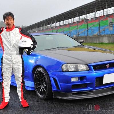 間寛平さんの愛車 34GTR BRAYウインドプロテクション施工& GTR maの記事に添付されている画像
