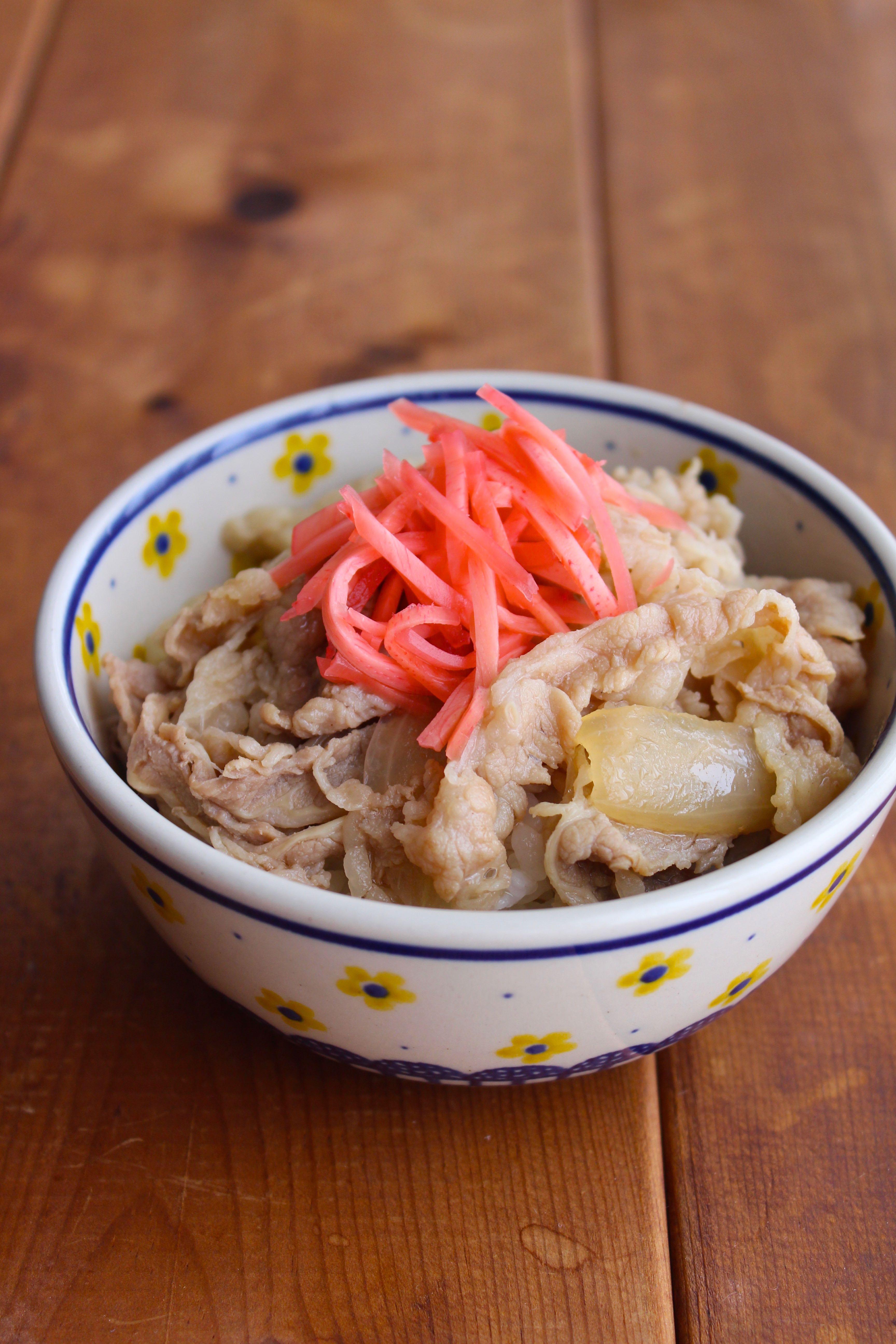 牛 丼 レシピ すき家 牛カルビ丼 すき家